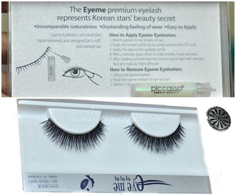 Organic Rubber No Dont Get Excited Its Just A Bag by Eyeme Lashes No 20 From Piccasso Review Glam Radar