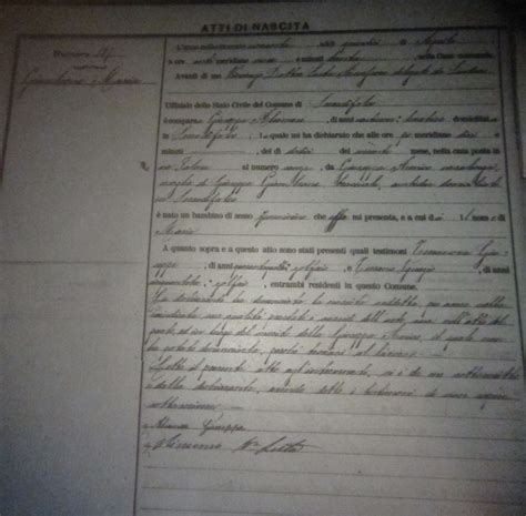 Pennsylvania Birth Records 1800s October 2011 Genealogy And Jure Sanguinis