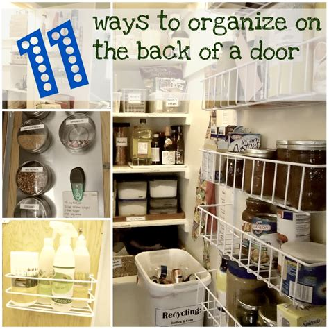 organizing a bedroom 11 ways to organize on the back of a door organizing