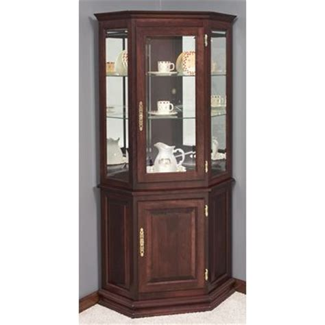17 best images about curio cabinets on corner