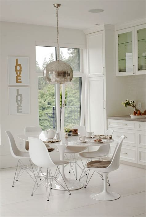 eat in kitchen tables and chairs chair eames molded