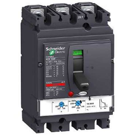 schneider electric si鑒e social nsx250f tm250d 3p3t circuit breaker schneider electric