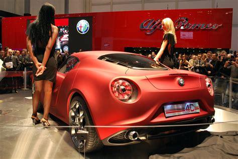 alfa romeo 4c concept geneva motor show 2011 live alfa romeo 4c concept