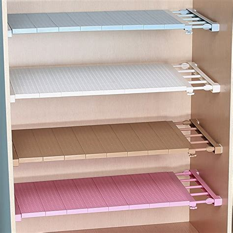 vancore adjustable storage rack separator wardrobe