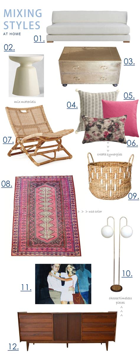 mix styles boho beach bungalow how to mix styles at home