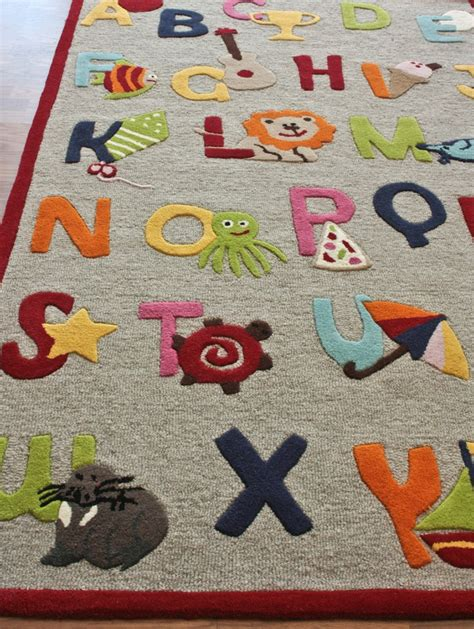 Kinderloom Alphabet Rug Rosenberryrooms Com Alphabet Rug For Room