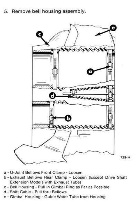 Mercruiser Bellows Replacement