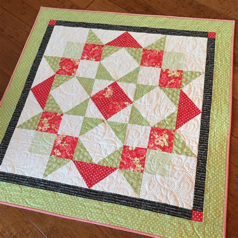 Moda Quilts by Carried Away Quilting Moda Quilt For