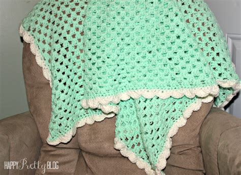 Easiest Way To Crochet A Blanket by Beginner Crochet Baby Blanket