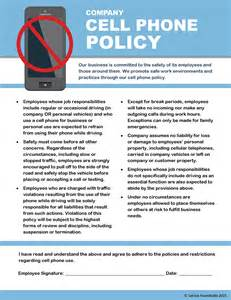 company cell phone policy template monthly hvac management downloads courtesy of the service