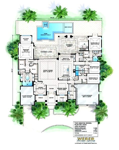 home plans with pool thepartyplace info