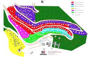 plan de la station de guzet station de guzet vacances