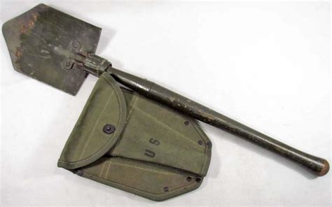 us entrenching tool us ww2 army entrenching tool shovel w canvas carrying