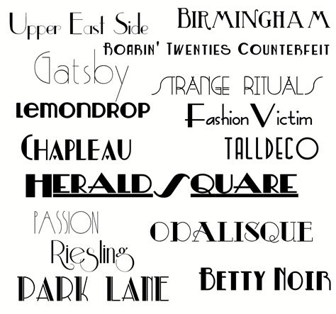 Great Essay Fonts by The Great Gatsby Is Coming Here Are 15 Free Gatsby Inspired Fonts Sweet Benanna Sam