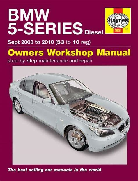 bmw 5 series service and repair manual haynes 2003 2010 sagin workshop car manuals repair