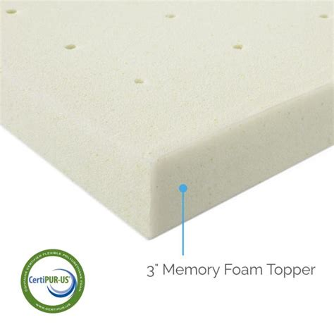 3 Memory Foam Mattress Topper by 3 Quot Memory Foam Mattress Topper By Lucid 174 Linenspa