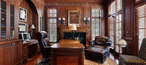 High End Home Office Design Luxury Home Offices Swanky Home Offices