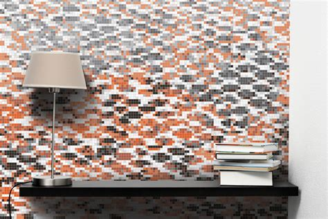 mosaic pattern skin orange snake skin tile pattern hydrus tangerine by artaic