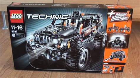 Lego Technic Jeep Lego Technic 8297 Power Functions Jeep Unboxing Hd720