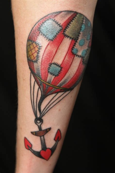 25 best ideas about air balloon tattoo on pinterest