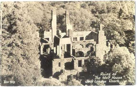 wolf house why did jack london s wolf house burn krcb