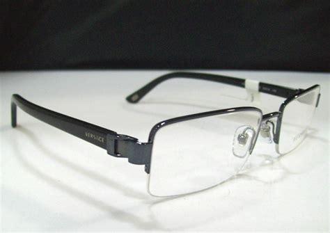 versace ve1183 mens black designer eyeglass frames ebay