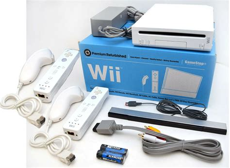 nintendo wii console used nintendo wii system 2 remote bundle rvl 001