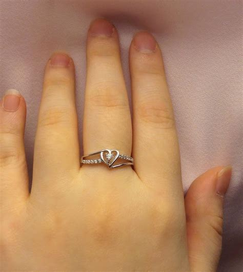 promise ring for day gift ring