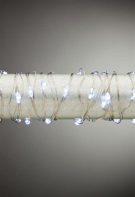micro lights with timer twinkling cool white 60 quot micro led lights string