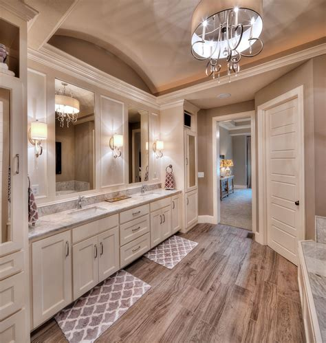 master bathroom his and sink home