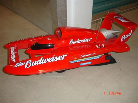 rc pro boats for sale pro boat miss budweiser u 1 nitro boat 15 r c tech forums