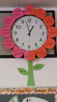 flower clock themes mobile9 1000 images about spanish on pinterest in spanish