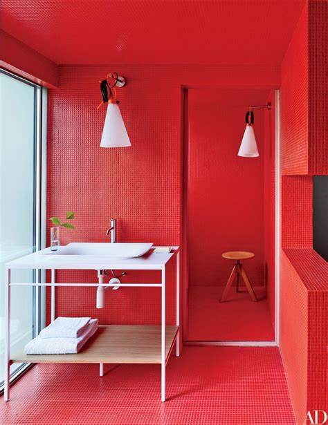 bold bathroom color ideas architectural digest s 15 hot bathroom colors 2016 ideas