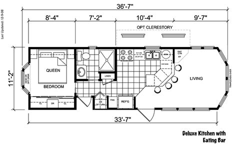 rv park model floor plans riviera ii floor plan rv park model homes