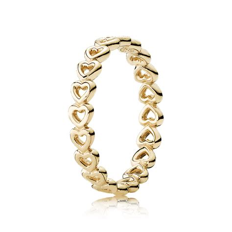 pandora rings pandora cut out stacking ring 150177 pandora from