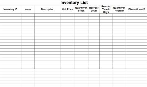 Tool Inventory Sign Out Sheet And Inventory Spreadsheet Template Pccatlantic Spreadsheet Templates Mechanic Tool Inventory List Template