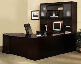 L Shaped Computer Desk With Hutch On Sale Executive Office Desk Sorrento U Shape Executive Office