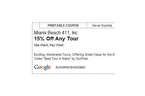 miami tour coupons