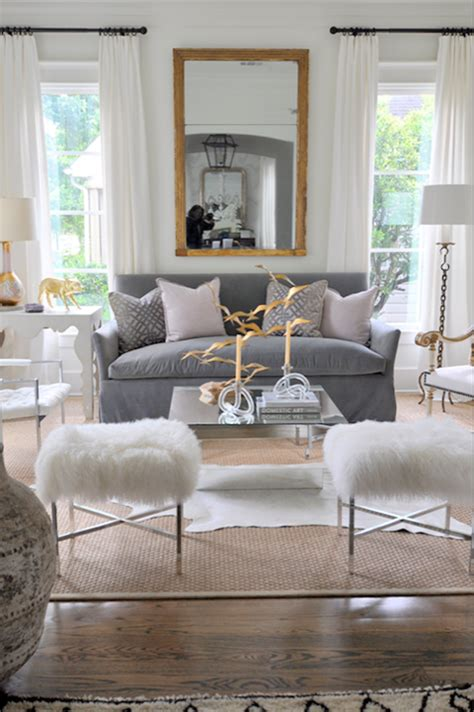 gold and grey living room the pink doormat hollywood glamour inspired living room