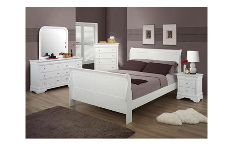 white queen size bedroom sets bianco white queen size sleigh bedroom set my furniture