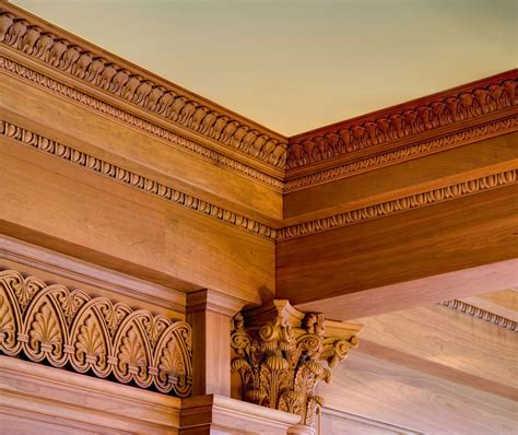 Wood Ceiling Molding by Ceiling Molding Design Carved Molding Coffered Ceiling