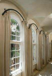 Window Treatments For Arched Windows Arch Window Treatments On Arched Window