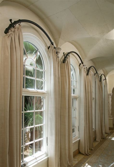 Curtains For Arched Windows Arch Window Treatments On Pinterest Arched Window Coverings Arched Window Curtains And Custom