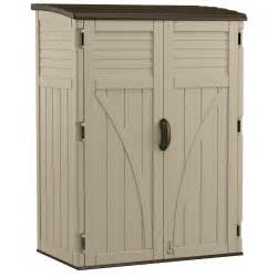suncast vertical storage shed 54 cu ft the home depot