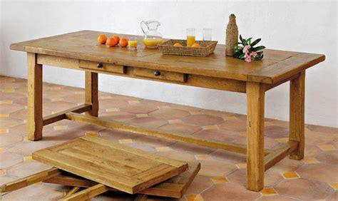 Banc De Lit Coffre 703 by Table Rectangulaire Chene Aravis Meubles