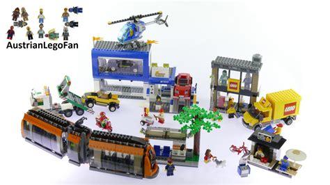 Lego 60097 City Square lego city 60097 city square lego speed build review