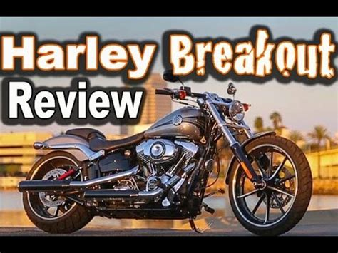 2015 harley davidson breakout ride and review first time