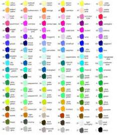marvy colorchart http bevgray my cmyk rgb color chart pdf htm color charts
