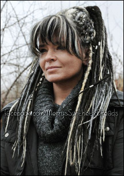 dreadlocks girl merry synthetic synthetic dreads hair 17 best ideas about synthetic dreads on pinterest