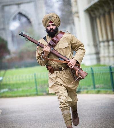 meet the world war one sikh warrior running the brighton